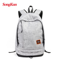 SongKun Laptop Backpack Men Large Capacity Travel Computer Bag Student School Bags For Girls Canvas Backpack