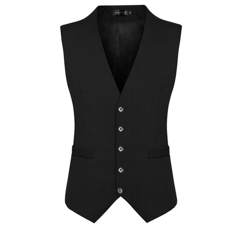 Chaleco Hombre Vests Custom Made Mens Fashion Brand Slim Fit Single-breasted Sleeveless Jacket Waistcoat Men Suit Vest Business