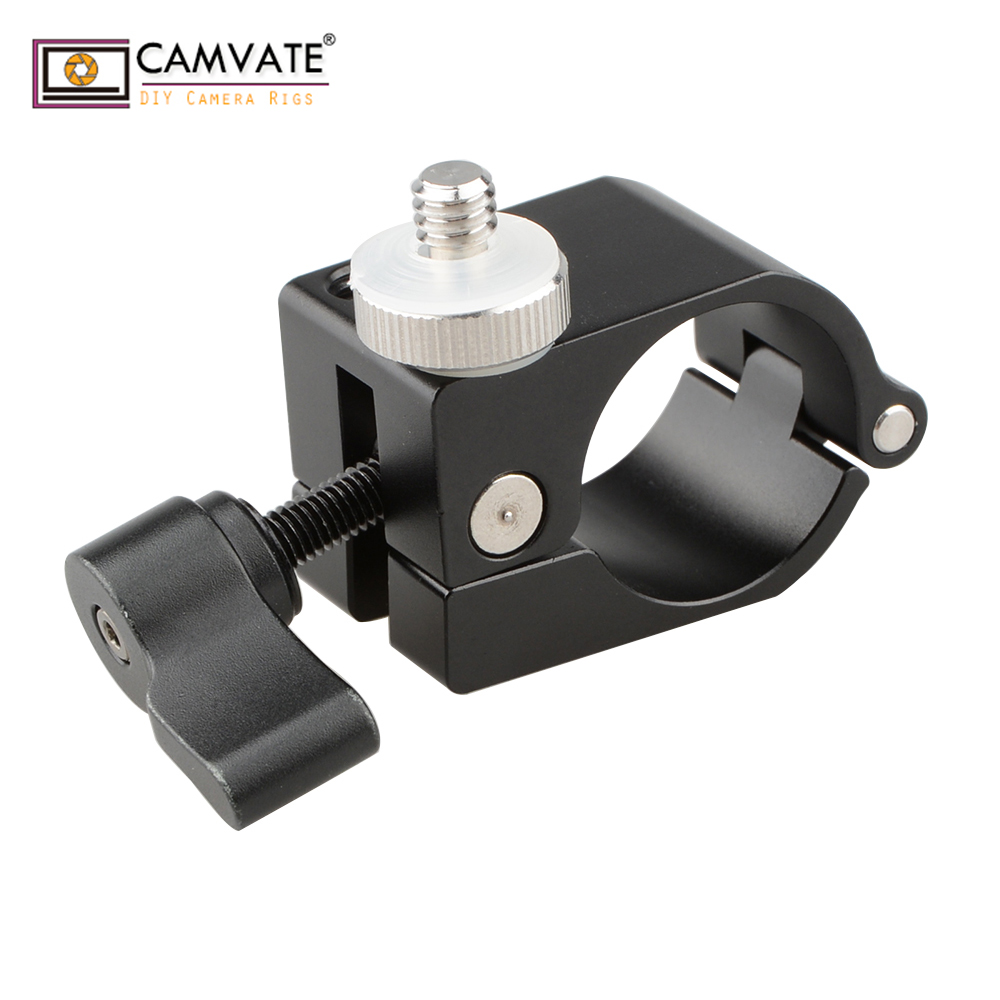 "mount accessory w CAMVATE Accessory Mount Ersatzteil 25mm Rod Hole w/ 1/4""-20 Screw for DJI Ronin-M C1258 camera photography accessories (1)"