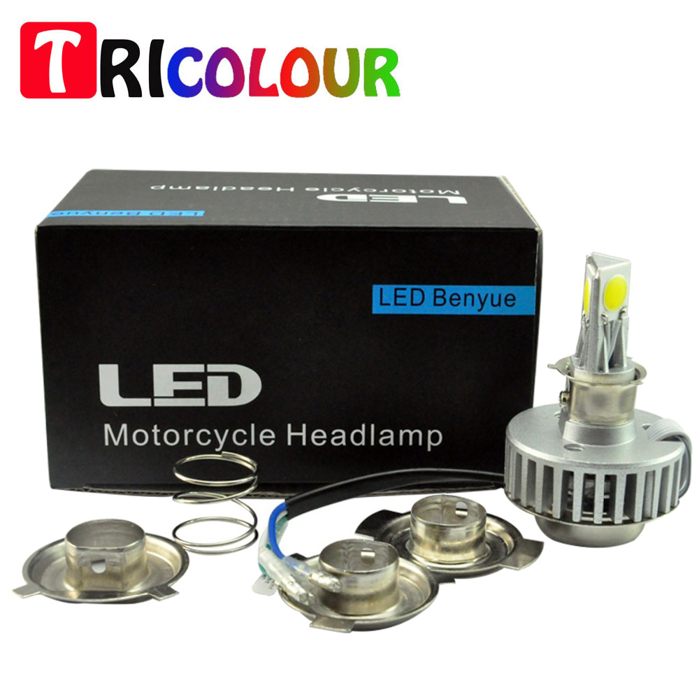 H4 H6 BA20D 18W COB 1800LM LED Motorcycle Motorbike Autocycle Autobike Scooter Headlight Light Lamp Bulbs 12V #LN40 kymco gy6 autobike autocycle motorcycle scooter clutch hk202918rs needle roller bearing size 20 29 18mm flywheel bearing