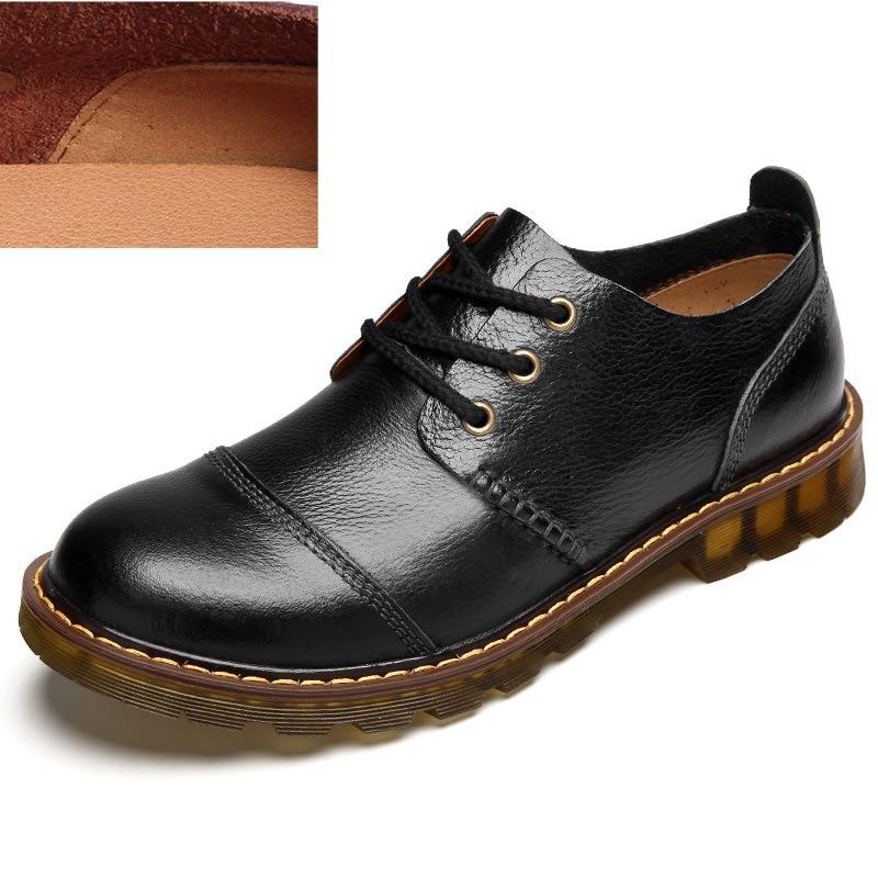 noir De Mode Printemps Chaussures Hommes marron 1 Hommes Automne Black Pour Martin Bottes 2018 chocolat Et Casual 6x0AY4Y
