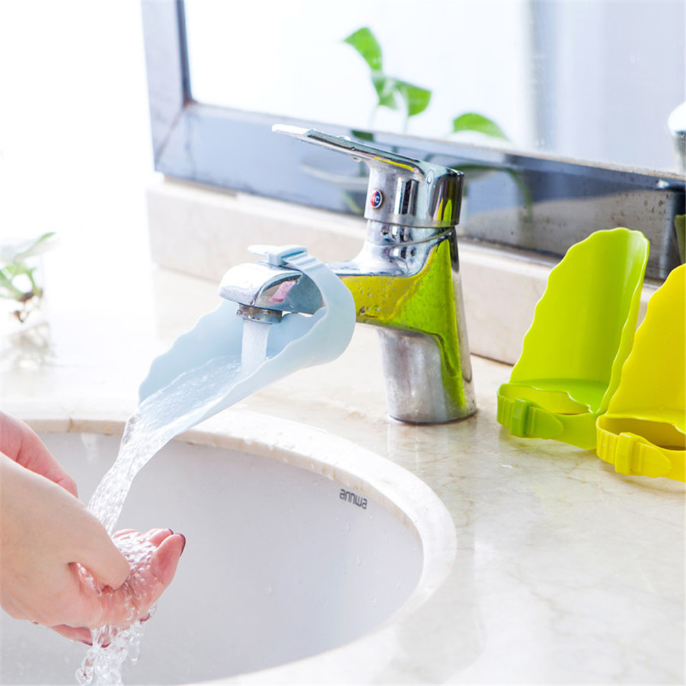 Durable Kid Toddler Baby Faucet Tap Extender Washing Hands Aid Bathroom Sink Lovely Bathroom Sink Tubs