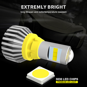 Image 2 - 2x T15 LED 1156 BA15S 7440 W21W 3030 لمبة W16W Led عكس ضوء المصباح في Canbus 921 912 سيارات احتياطية بدوره مصباح إشارة مصباح