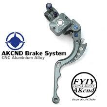 AKCND 17.5MM Motorcycle Brake Clutch Master Cylinder Hydraulic Pump handle for yamaha nmax bws smax aerox R6 r1 Fz6 Gsxr600 z800