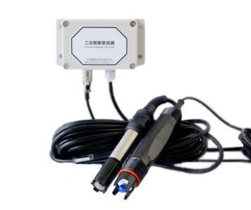 Split pH et Dissous D'oxygène Émetteur Convertisseur capteur Remplaçable électrode NE sonde Analogique Tension 4 ~ 20mA RS-485 MODBUS