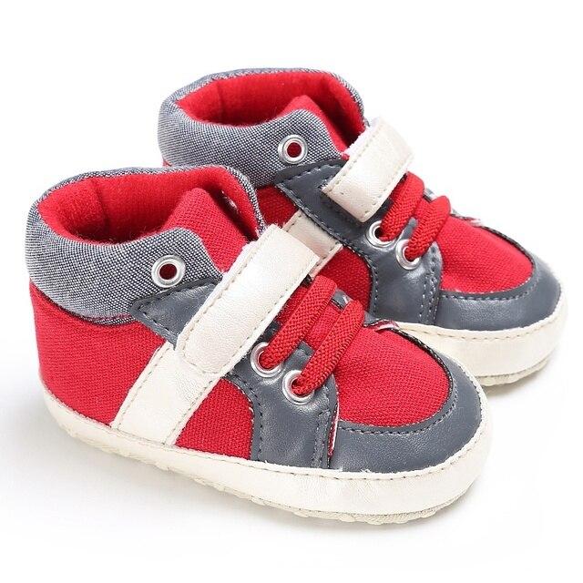 2018 Printemps été bébé gar?on chaussures la première walker chaussures gar?on 11 13 cm en bas age chaussures bébé gar?on baskets chaussures dans Premiers 210474