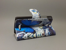 New Butterfly Flower Flag Designer Wallet Flip Stand Book Cover Case For Lenovo A1000 A 1000 Case on A1000 freeshipping