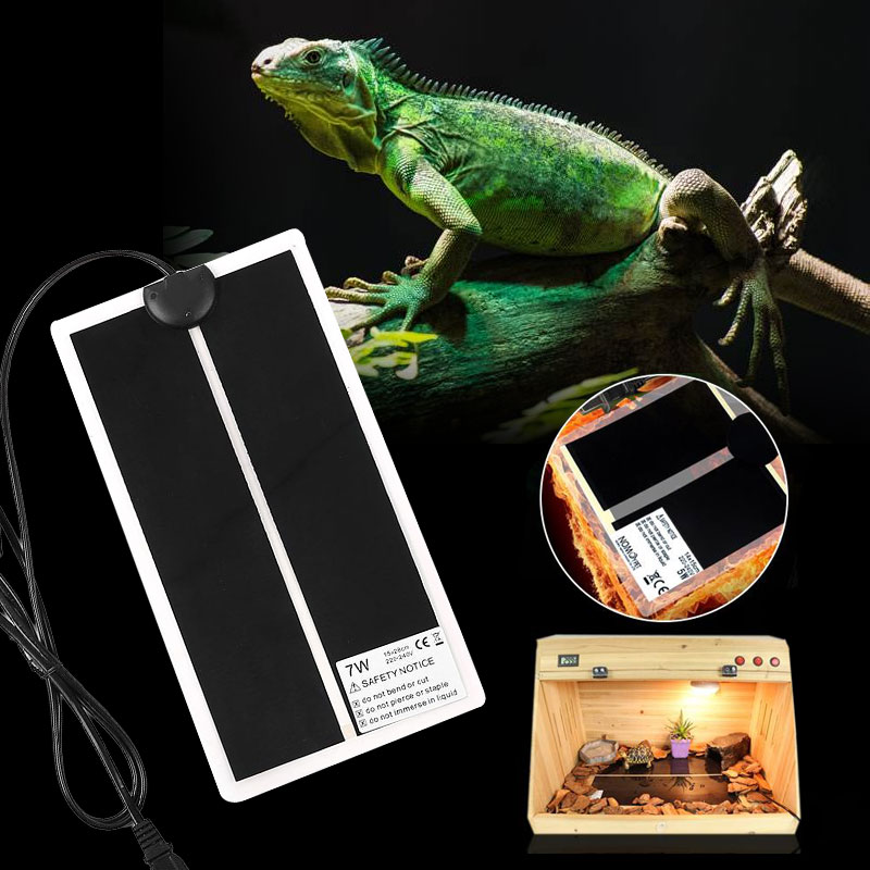 Home Special Section Pet Heat Mat Reptile Brooder Heating Warm Heater Pad Brew Eu/us Plug 5/7/14/20w Drop Shipping High Quality