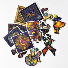Pvc Stickers Colorful Art 25PCS Non-Repeating Waterproof