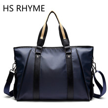 HS RHYME Men Business Nylon Briefcase Bag Dress Laptop Handbag Man Fashion Shoulder Bag Bolsa Maleta Maletin Hombre Sac A Main