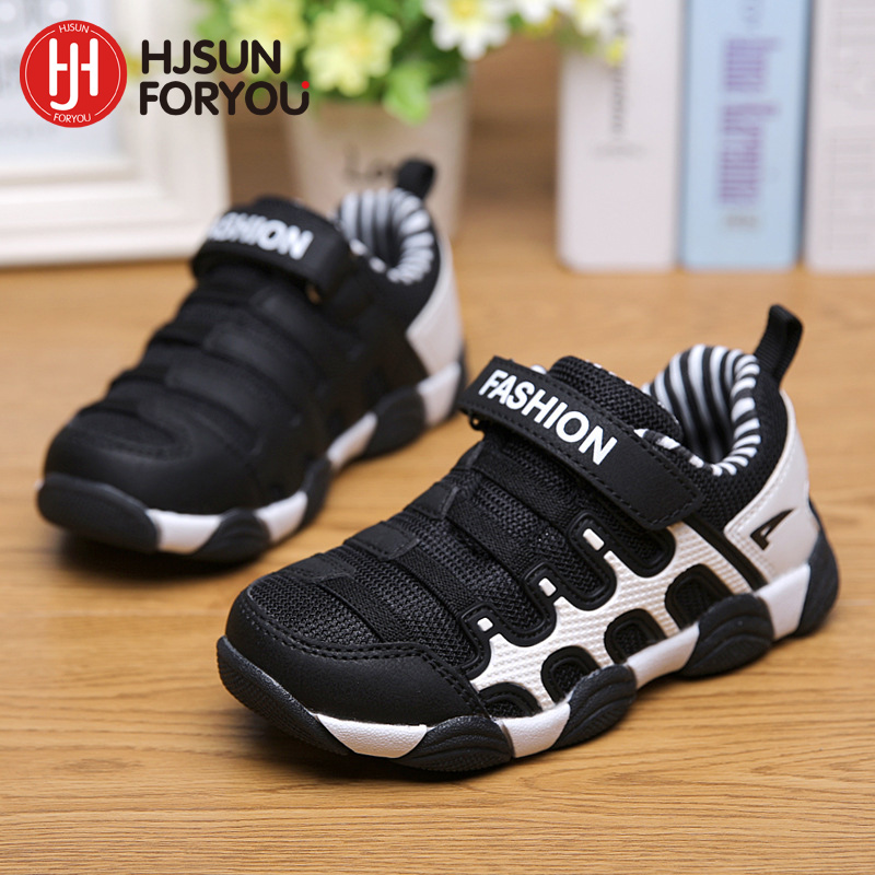 New Brand 2019 Children Shoes Fashion Kids Sneakers Size 27-37 Girls and Boys Sport Shoes Breathable Casual Child Sneakers