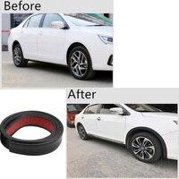car sticker 3.5 / 4.5 / 5.5cm * 150cm Rubber Styling Mouldings Car Wheel Arch Protection Moldings Anti-collision Mudguard Auto Wheel Sticker (5)
