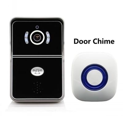 где купить 720p Wireless Handsfree WIFI Doorbell Intercom Video Door Phone дешево