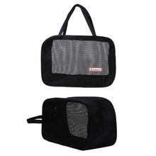 2018 New Portable Bathing Bag Mesh Shower Toiletry Pouch Travel Makeup