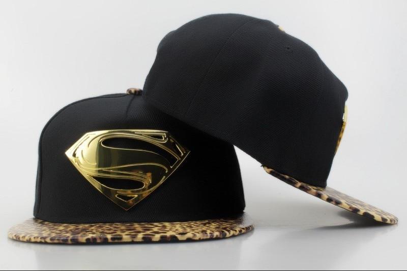 reputable site 52d8a babee ... ireland hot sale dc comics snapback hat red superman snapbacks leopard  snap back cap fashion summer