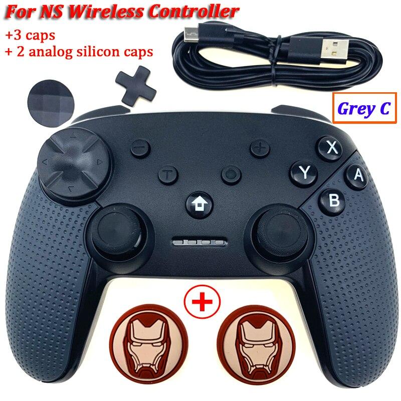 2019 kontroler bezprzewodowy do przełącznik do nintendo Con Gamepad Joystick do przełącznik do nintendo Pro Remote Pro Joy Gaming Joypad