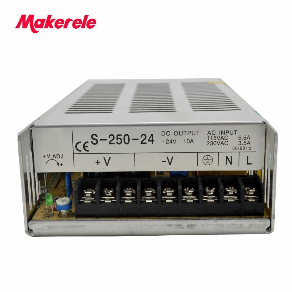 все цены на single output type CE IP20 Constant voltage AC to DC 250W 5v 12v 24 48v 5a power supply 48v switching power supply онлайн