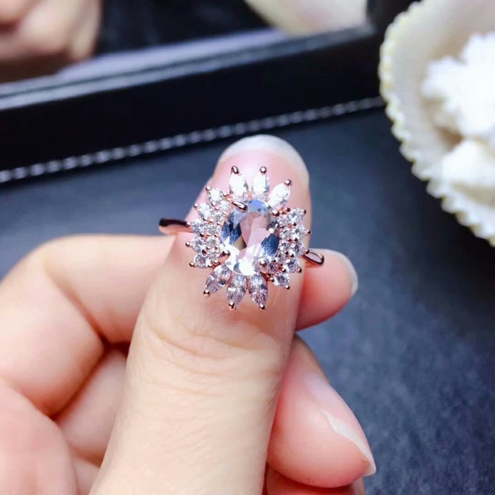 shilovem 925 sterling silver real Natural aquamarine Rings fine Jewelry women trendy wedding open new plant gift mj060817agashilovem 925 sterling silver real Natural aquamarine Rings fine Jewelry women trendy wedding open new plant gift mj060817aga