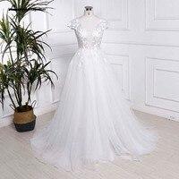 Пляжные Свадебные платья белого цвета слоновой кости свадебные платья индивидуальный заказ Многоуровневое Свадебное платье из фатина плю