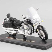 1/18 scale child mini metal diecast YAMAHA 2001 Road Star Silverado touring cruiser motorcycle models collection Toys for kids