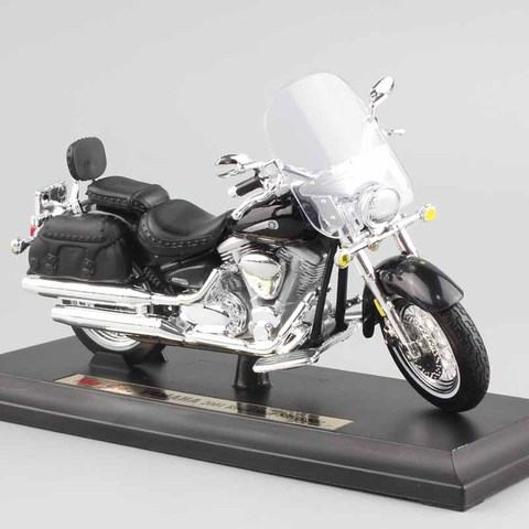 1/18 scale child mini metal diecast YAMAHA 2001 Road Star Silverado touring cruiser motorcycle models collection Toys for kids Pakistan