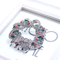 For Party Ladies Gifts Brooches For Women Pin Broches Retro Christmas Wreath Brooch Jewelry Prendedores De Mujer XZ005