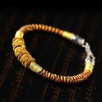 Main Armure de Haute qualité femelle bijoux chanceux string rouge bracelet or de haute qualité corde à la main bracelet amateurs meilleur cadeau