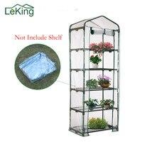 뜨거운 판매 PVC 식물 온실 3 4 5 계층 커버 Growbag