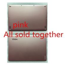 Для lenovo YOGA 900-13ISK YOGA 4 pro Нижний Базовый чехол и ЖК-задняя крышка AM0YV000130 AM0YV000330 розовый