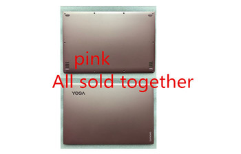 New For Lenovo YOGA 900-13ISK YOGA 4 pro Bottom Base Cover Case AND LCD Rear Top Lid Back Cover AM0YV000130 AM0YV000330 PINK