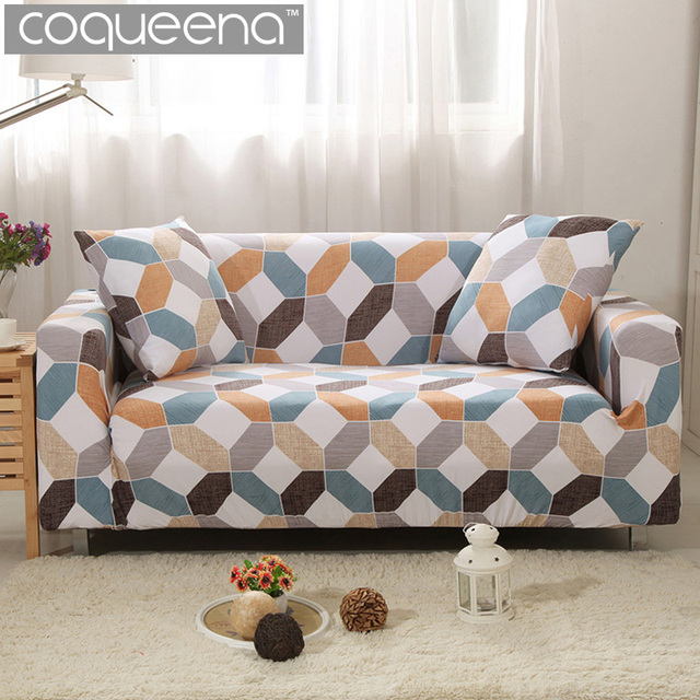 Universal Stretch Sofa Slipcovers Sectional Couch Covers For Living Room  Armrest Chair Angular Corner Sofa Scandinavian