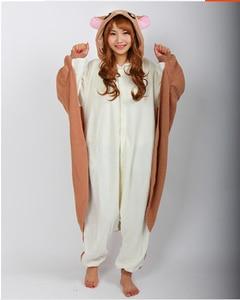 Image 2 - Kigurumi Fliegen Eichhörnchen Onesies Pyjamas Unisex Erwachsene Pyjamas Cosplay Kostüm Tier Onesie Nachtwäsche Overall