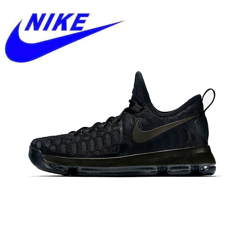 brand new c25c5 35a7a New Arrival NIKE Men s Original Kevin Durant Breathable Black Basketball  Sports Shoes Sneakers Trainers