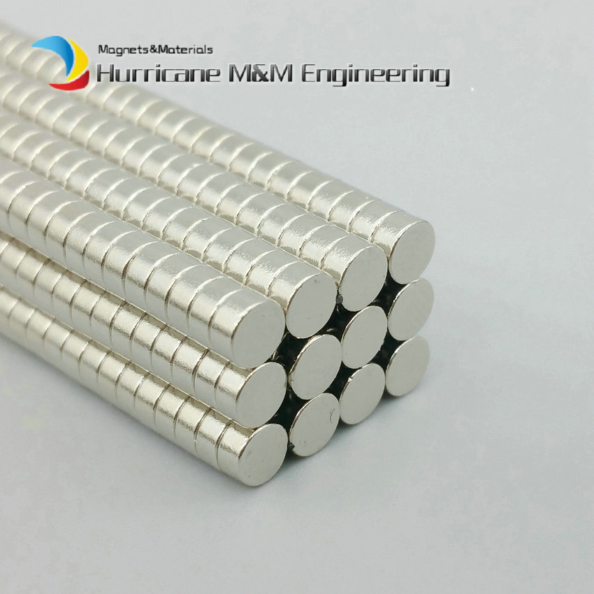 200-5000pcs NdFeB Disc Magnet Diameter 4x2 mm Jewelry Magnet Neodymium Permanent Magnets NiCuNi Plated Axially Magnetized 1 pack dia 6x3 mm jelwery magnet ndfeb disc magnet neodymium permanent magnets grade n35 nicuni plated axially magnetized