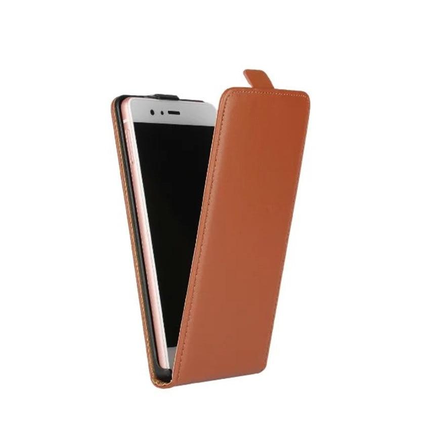 Kasus Penutup untuk Huawei P8 Lite P9 Lite P6 Balik Kulit Tas Ponsel - Aksesori dan suku cadang ponsel - Foto 3