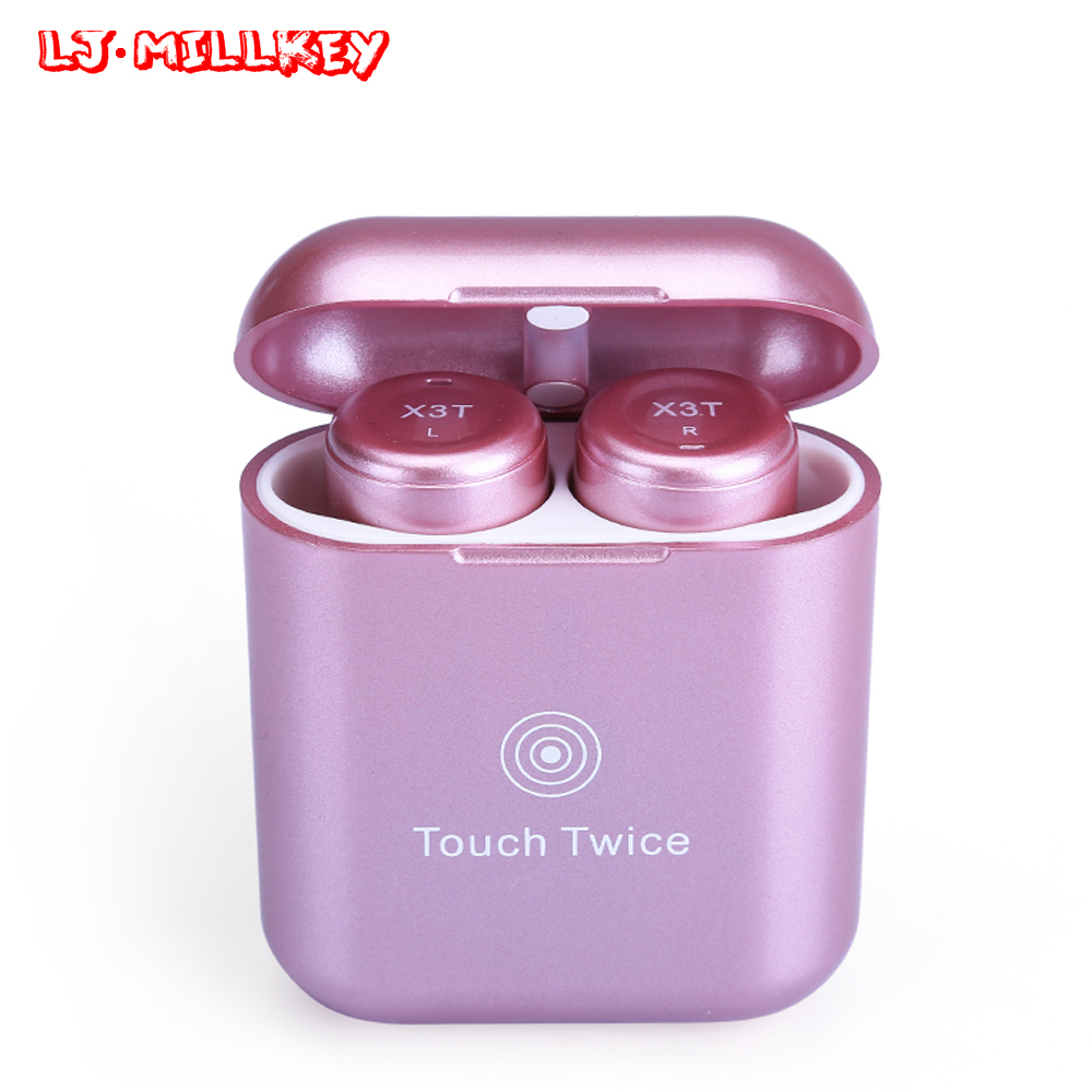 Bluetooth Eabuds TWS Earphones With Charging Box True Wireless Twins Earpiece Noise Cancelling Headset for Cell Phones YZ138