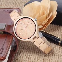 Skone Women's Wood Watches Top Brand Designer Environmentally Friendly Quartz Clock Ladies Dress Wooden Watch reloj mujer