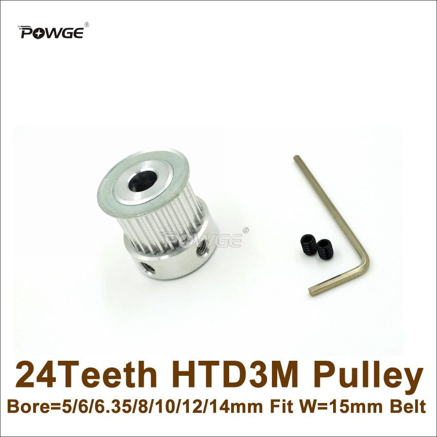 10 6.35 GT2 Pulley 12mm 10 8 6 9 Belt Width 6 Bore 5 15mm 36 Teeth