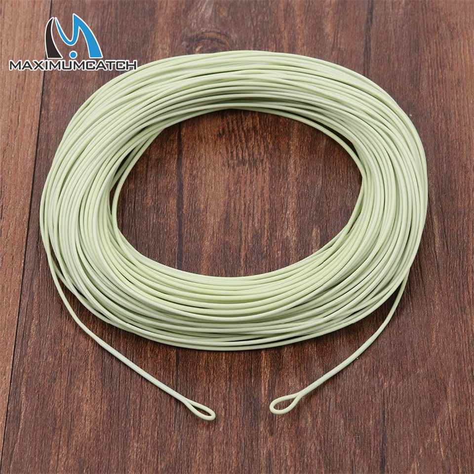 Maximumcatch 100ft 1 2 3 4 5 6 7 8wt weight forward for Fly fishing line