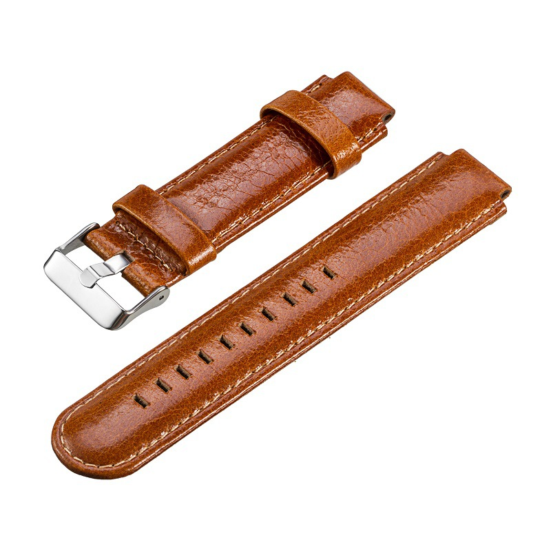 replacement watchband for Garmin Forerunner 220 230 235 630 620 735 watch leather watch strap for garmin foreunner in Smart Accessories from Consumer Electronics