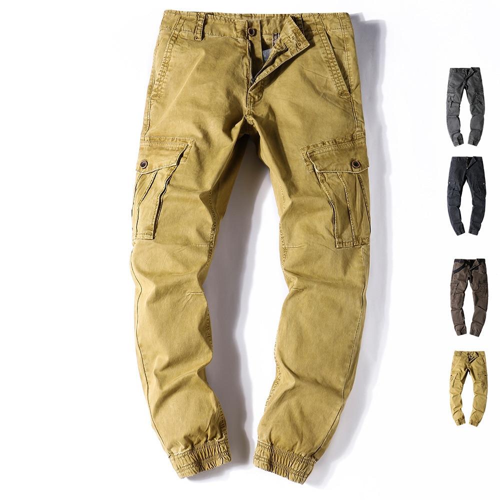 Fashion Casual Pants Mens Cargo Pants Big Size Men