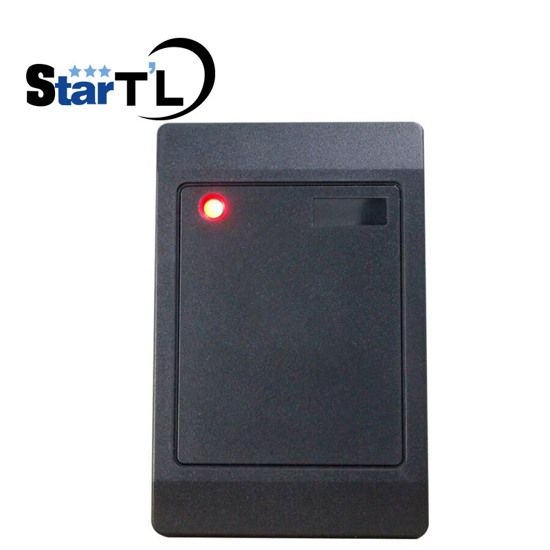 Promotion Price Wiegand 26/34 Rfid Card Reader For Access Control System MF IC 13.56Mhz Card Reader Access Control Slave Reader