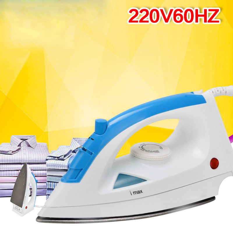 220V60hz 1000W Home Use Electric smoothing iron Steam Flat Iron Handheld mini ironing clothes tp760 765 hz d7 0 1221a