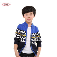 2017 Autumn Winter Children S Clothes Boys Sweaters Causal Stand Collar Cotton Boy Knitted Cardigan Sweaters