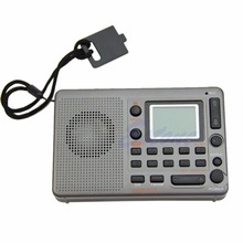 OOTDTY New 2019 arrival Portable Digital Tuning LCD Receiver TF MP3 Player FM AM SW Full Band Radio Hot Sale tecsun pl 600 full band synthesized stereo digital tuner tunning am fm lw sw ssb shortwave portable radio with clock