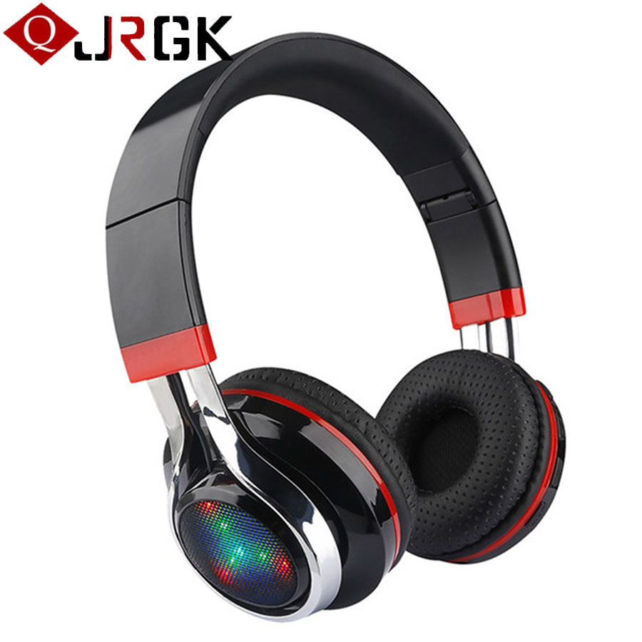 Wireless Bluetooth Headphones Foldable Stereo Music Headphone For iphone 6 Samsung Phone Headset With Mic Support Hand-free Call