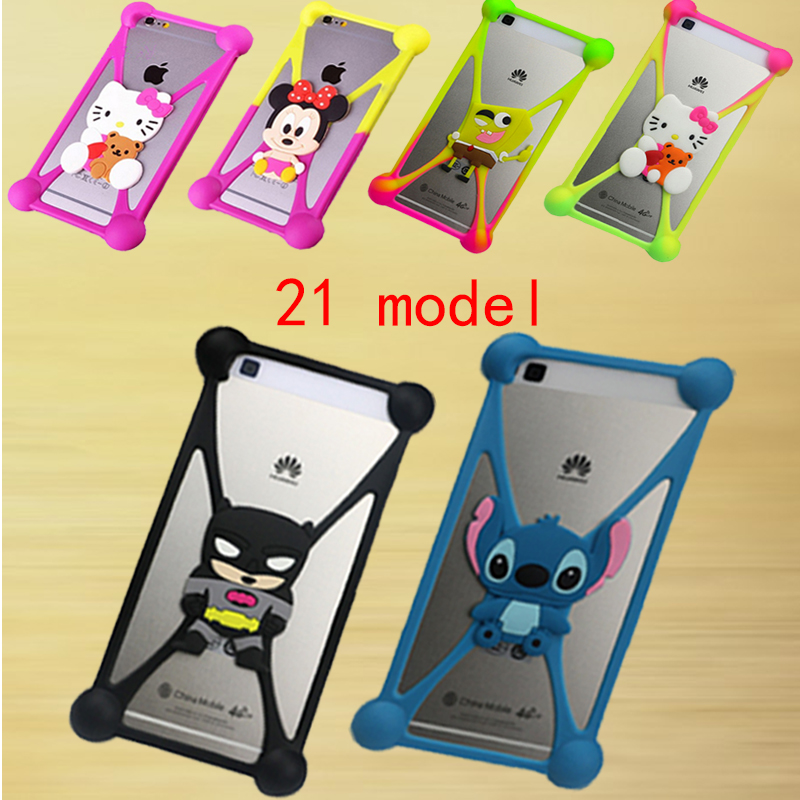 latest Phone Cover For Alcatel One Touch Idol 2 OT 6037K 6037B 6037Y 6037 3D Cartoon Character Image Soft Silicone Case