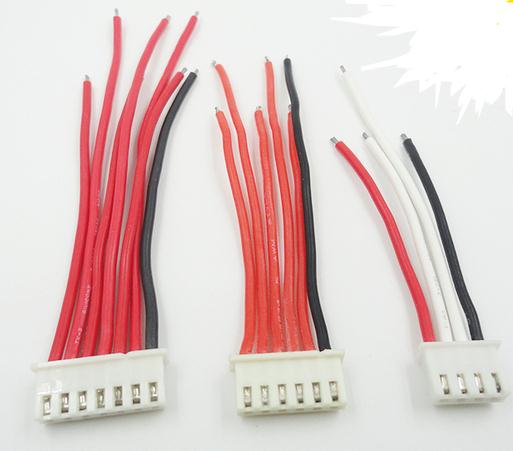 2//3//4//5//6//7//8//9//10S 1P Balance Charger Cable 22 AWG Silicon Wire JST XH Plug SR