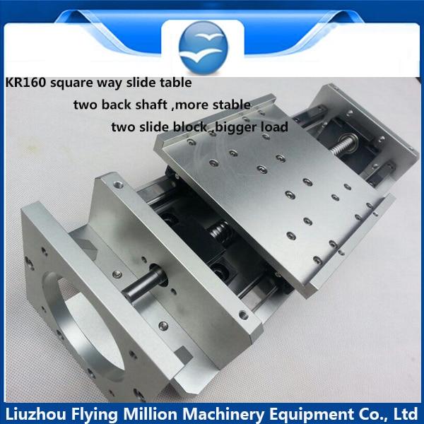 Linear Actuator system Linear Module Table 60mm travel length CNC Guide 1605 Ballscrew Sliding Table