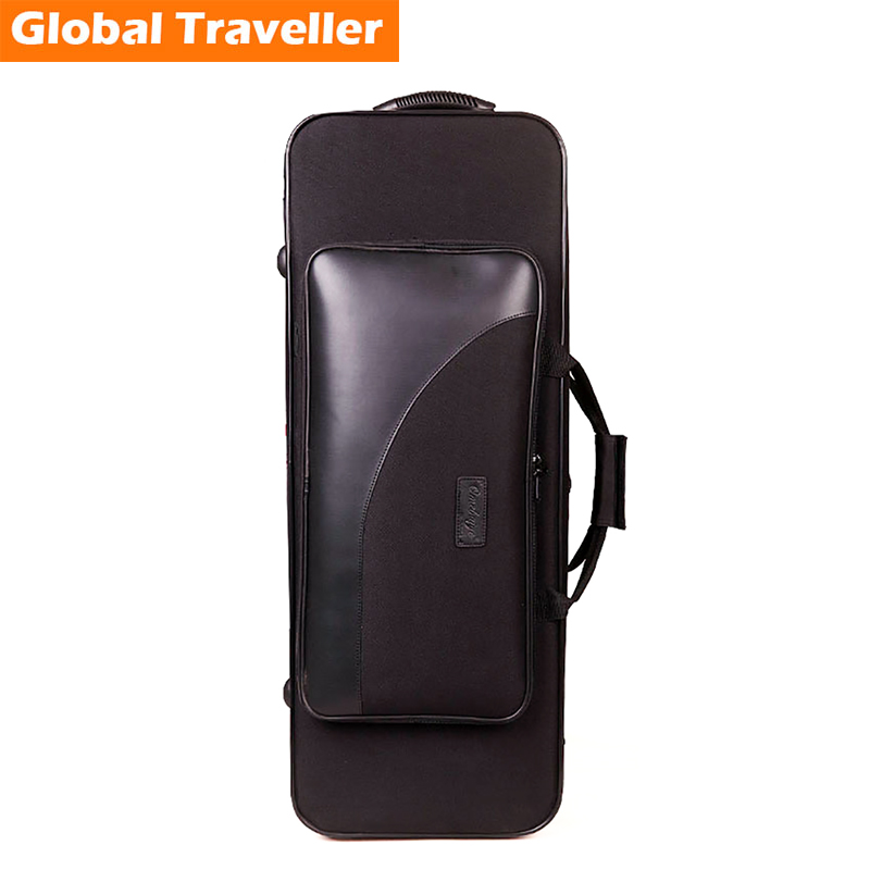 1 piece professional portable aterproof & anti pressure protection (Bb) Tenor Sax Case Bag Backpack for Saxophone use french professional design water proof shockproof cozy soft lightweight bb tenor sax case backpack tenor sax bag for saxophone